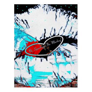 Ice Cold SMACK Postcard