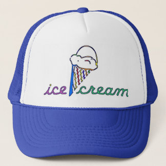 ice cream 7 trucker hat