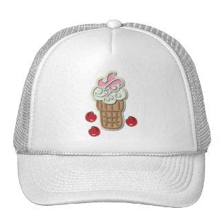 Ice Cream and Cherries Cap