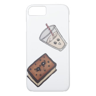 ice cream and milk iPhone 7 case