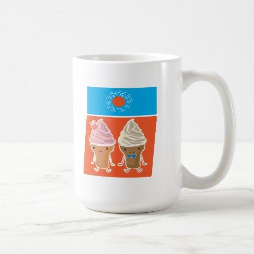 ice cream and sun bath mug