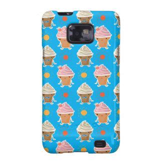 ice cream and sun bath pattern samsung galaxy SII case