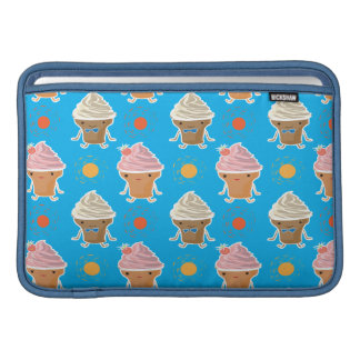 ice cream and sun bath pattern sleeve for MacBook air