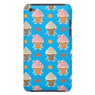 ice cream and sun bath patterns iPod touch cover