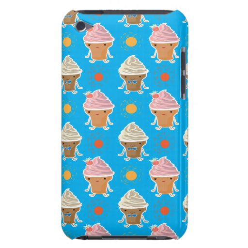 ice cream and sun bath patterns Case-Mate iPod touch case