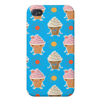 ice cream and sun bath pern cover for iPhone 4