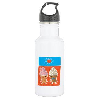 ice cream and sun bath 532 ml water bottle