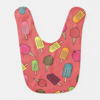 Ice Cream Baby Bib
