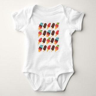 Ice-cream Baby Bodysuit