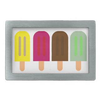 Ice cream bar belt buckles