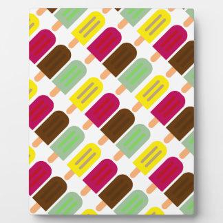 Ice cream bar plaque
