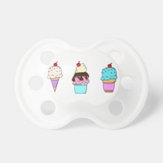 Ice Cream Binky Dummy