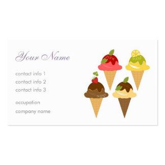 Ice-Cream Cafe Business Card Templates