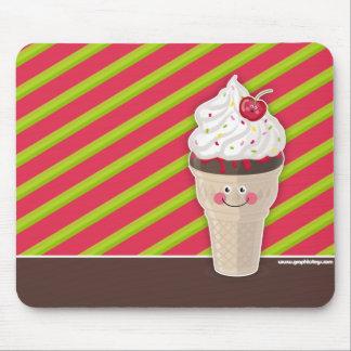 ice cream cherry mousepad