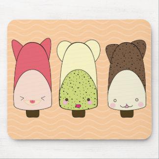 ice cream chocolate mouse pad