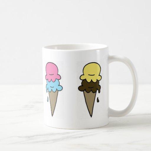 Ice Cream Coffee Coffee Mugs