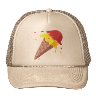 Ice cream cone cap