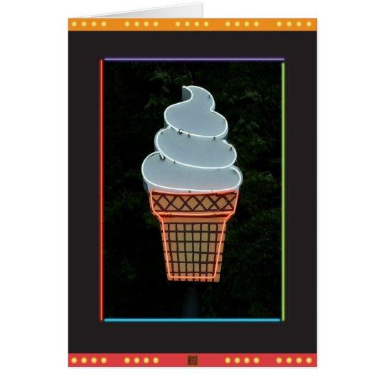 Ice Cream Cone-Card Card