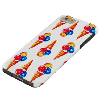 Ice-cream cone design tough iPhone 6 plus case