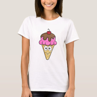 Ice Cream Cone Emoji T-Shirt