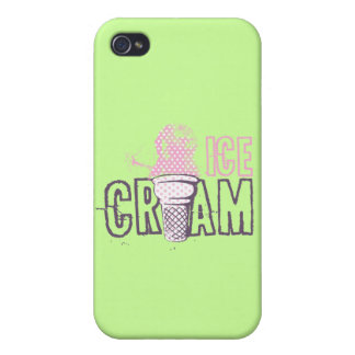 Ice Cream Cone Food Desserts Sweet Snack Love Case For iPhone 4