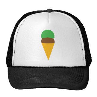 ice cream cone mesh hats