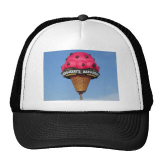 Ice Cream Cone Hot Air Balloon Cap