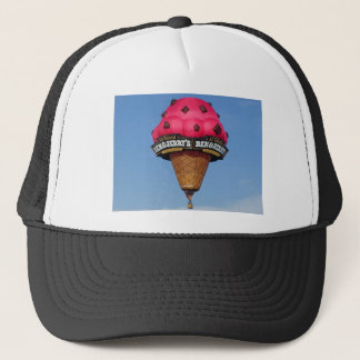Ice Cream Cone Hot Air Balloon Trucker Hat