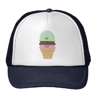 Ice Cream Cone Kawaii Art Hat