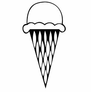 Ice Cream Cone Cut Outs