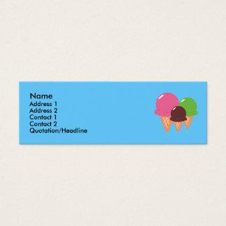 Ice Cream Cone Profile Cards