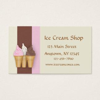 Ice Cream Cones Business Card