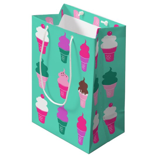 Ice cream cones giftbag medium gift bag