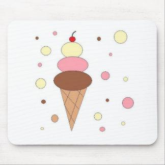 Ice Cream Cones Mouse Mats
