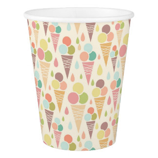 Ice cream cones pattern