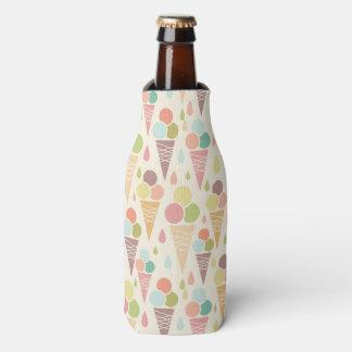 Ice cream cones pattern bottle cooler