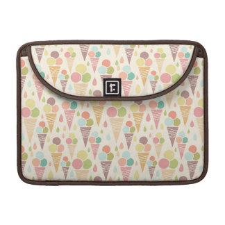 Ice cream cones pattern sleeve for MacBooks