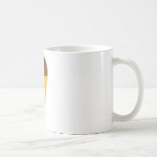 ice-cream cornet icon basic white mug