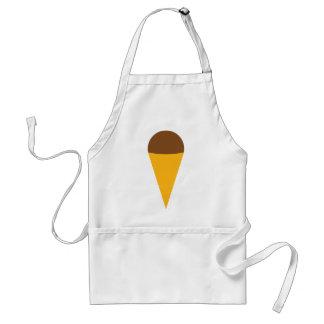 ice-cream cornet icon standard apron