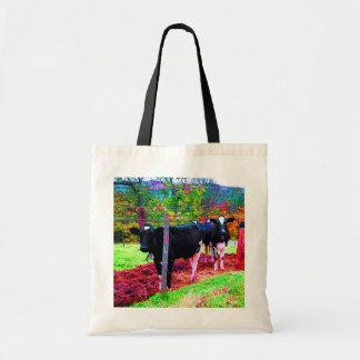 Ice Cream Cows Tote Bag