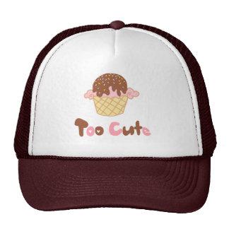 Ice Cream Cupcake Trucker Hats