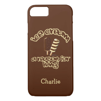 Ice Cream custom name phone cases