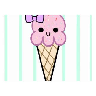 ice cream cuties postcard