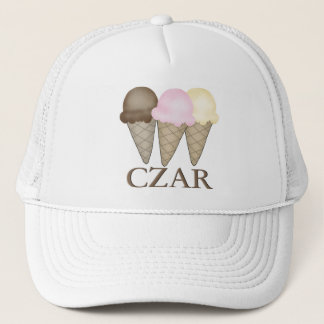 Ice Cream Czar Trucker Hat