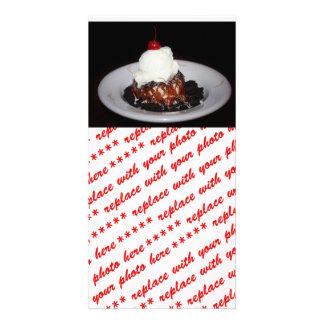 Ice Cream Desert Personalized Photo Card
