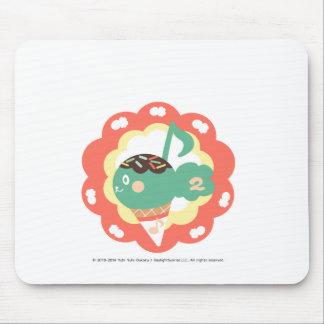 Ice-cream diacritic mouse pad