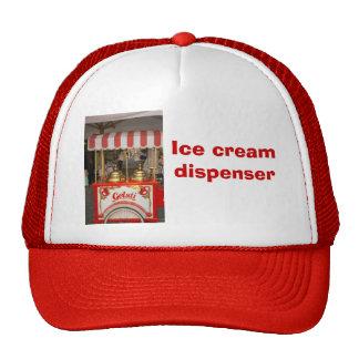 Ice cream Dispenser Mesh Hat