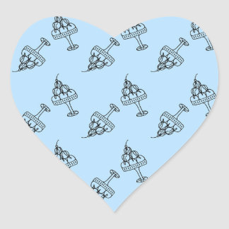 ice cream dream heart sticker