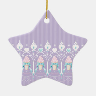Ice Cream Dream - Lavender Christmas Ornament