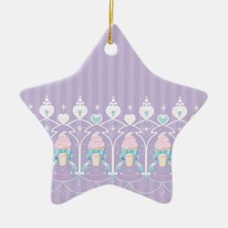 Ice Cream Dream - Lavender Christmas Ornament